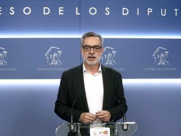 José Manuel Villegas, secretario general de C's en el Congreso