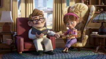 Carl y Ellie, la inolvidable pareja de 'Up'