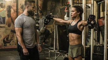 La transformación física de Alicia Vikander para 'Tomb Raider'