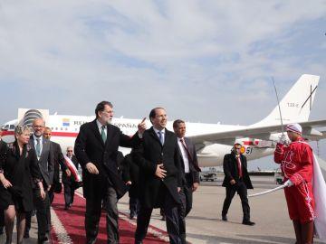 Mariano Rajoy llega a Túnez