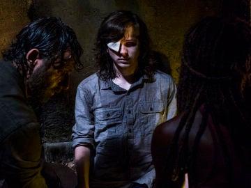 Escena de 'The Walking Dead'