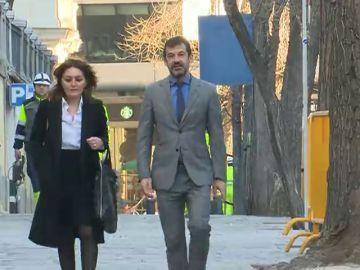 El jefe de los Mossos, Ferrán López Navarro, declara como testigo en el Supremo