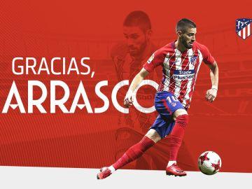 Yannick Carrasco se marcha del Atlético de Madrid