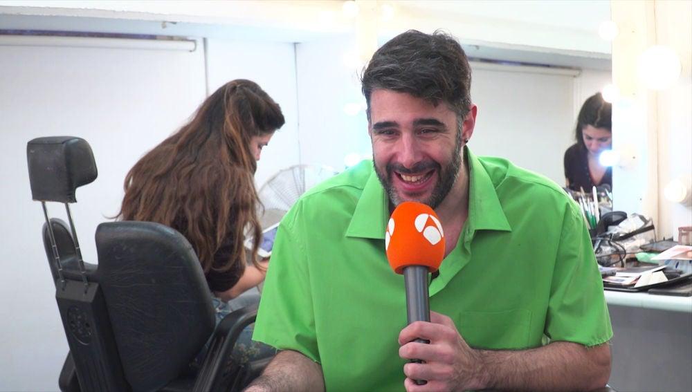"David Amor: ""Me gustaría haber hecho 'Turnedo' de Iván Ferreiro"""