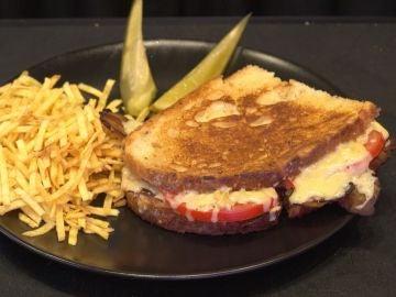 Grilled Cheese Bacon, una receta sabrosona.