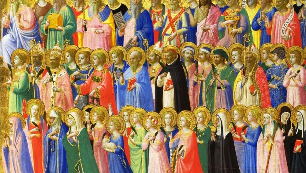 Todos los santos, Fra Angelico
