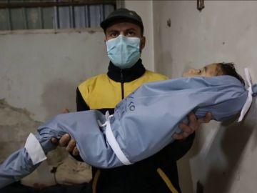 Al menos 17 muertos por ataques contra feudo opositor de afueras de Damasco
