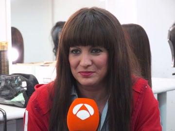 """Lucía Jiménez: """"Como va a elegir el público, no tenemos ni idea de lo que va a pasar"""""""