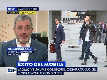 Jaume Collboni en Espejo Público