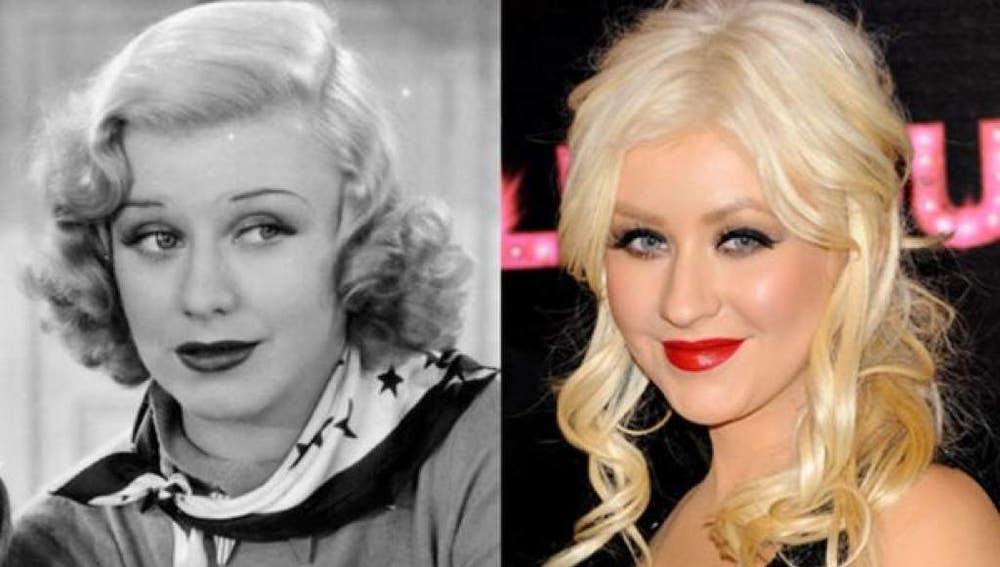 Christina-Aguilera-y-la-actriz-Ginger-Rogers.jpg