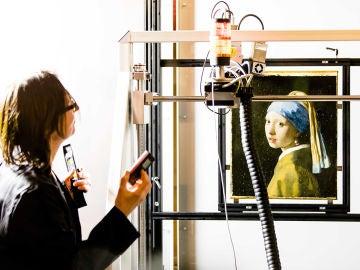 'La joven de la perla', de Vermeer