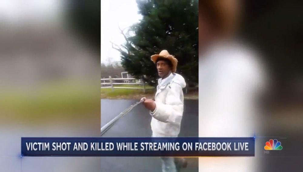 El hombre asesinado