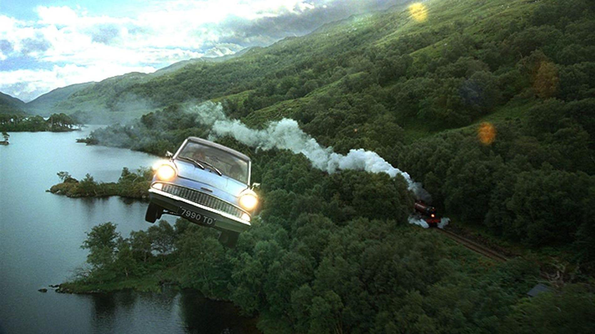Coche volador de Harry Potter