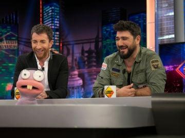 Trancas y Barrancas retan a Antonio Orozco en 'El Hormiguero 3.0' a adivinar los videoclips más surrealistas