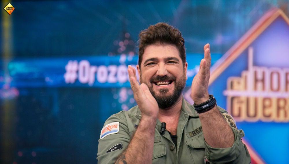 """Antonio Orozco, en 'El Hormiguero 3.0': """"La madre de Pablo López y la mía pueden hacer un dúo televisivo"""""""