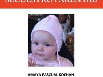 Amaya Pascual Kochan, desaparecida desde el 9 de febrero