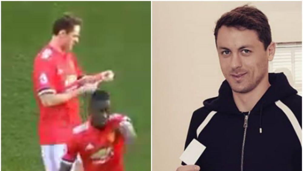 Matic y la famosa nota que le pasó Mourinho