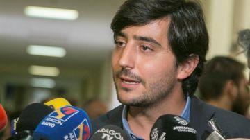 El portavoz parlamentario de Economía de Ciudadanos, Toni Roldán