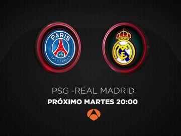 El PSG-Real Madrid se juega en Antena 3 este martes 6 de marzo