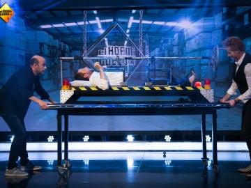 Yunke y Jandro estrenan un truco de magia único en el mundo ante los ojos de Pablo Motos y Antonio Orozco