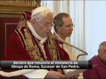 Benedicto XVI renunciaba al pontificado hace cinco años