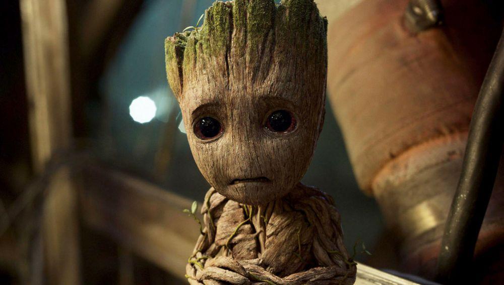 A Baby Groot tampoco le ha gustado la noticia