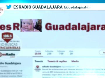 buscan a un bebe desaparecido en Guadalajara