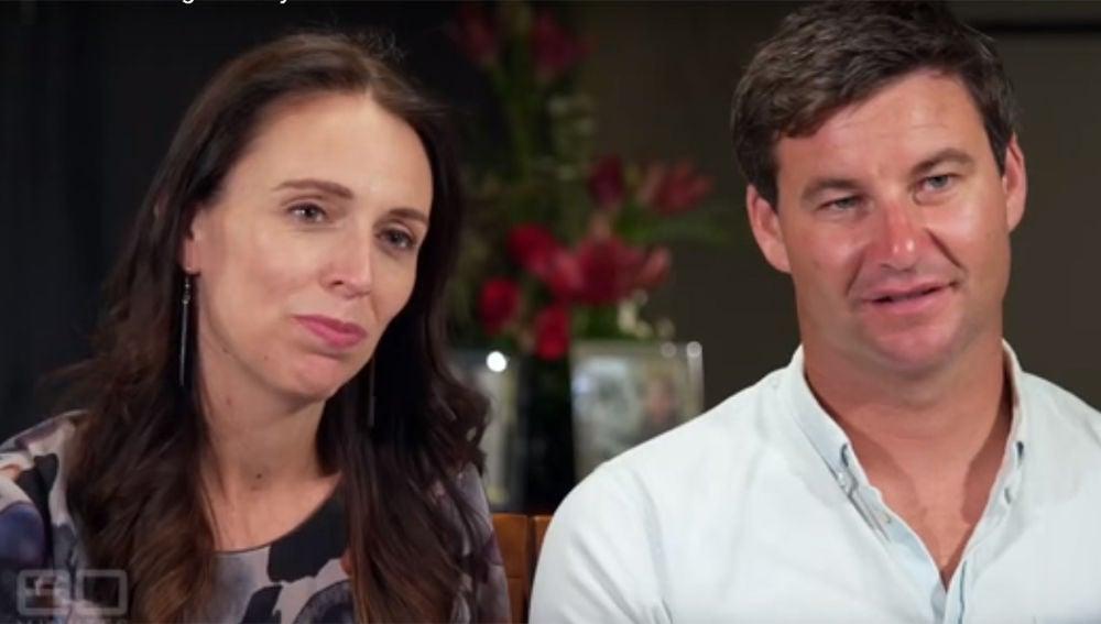 La primera ministra de Nueva Zelanda y su pareja