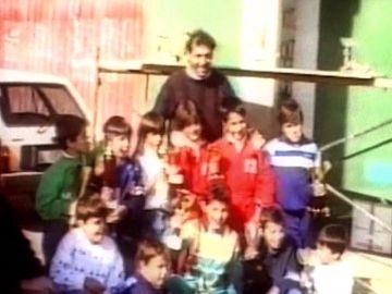 La imagen que subió Fernando Alonso para homenajear a Quini