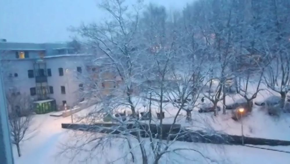 Ocho CCAA amanecen con riesgo importante de nevadas que a partir de esta tarde se convertirán en lluvias