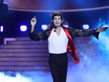 Fran Dieli empapa al público de emoción en la gran final de 'Tu cara me suena' con 'Earth song' transformado en Michael Jackson