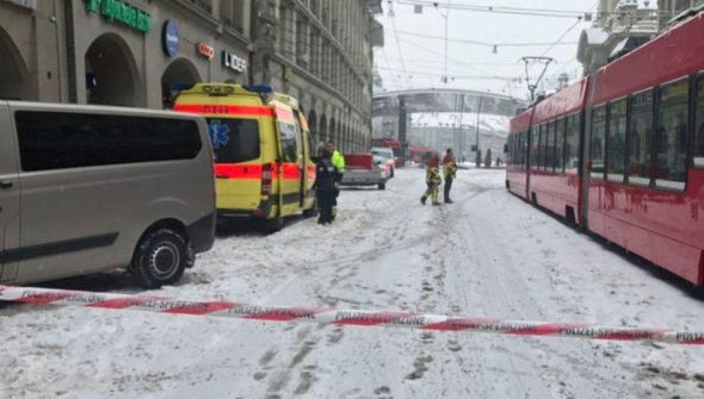 Evacuada la plaza de la estación central de trenes en Berna