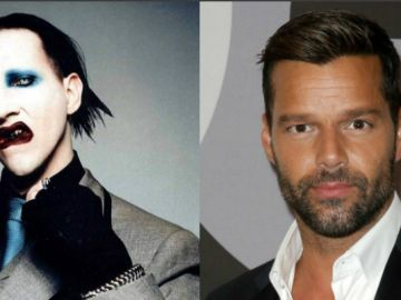 Marilyn Manson y Ricky Martin