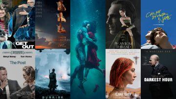Nominadas a los Oscar 2018