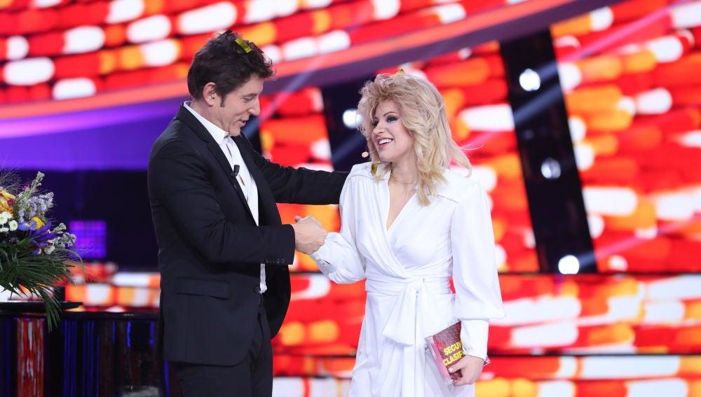 Lucía Gil se convierte en la segunda finalista de la sexta edición de 'Tu cara me suena'