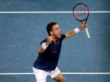 Roberto Bautista, ganador en Dubai