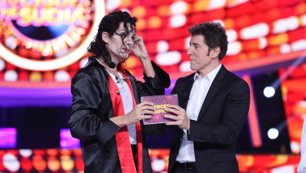 El tercer finalista de la sexta edición de 'Tu cara me suena' es Fran Dieli