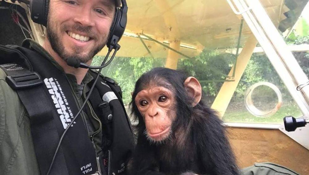 Mussa y el piloto que la rescató