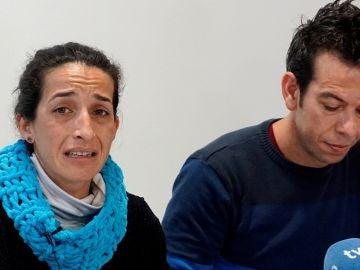 Angel Cruz y Patricia Ramirez, los padres de Gabriel
