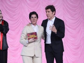 Diana Navarro es la cuarta finalista de la sexta edición de 'Tu cara me suena'
