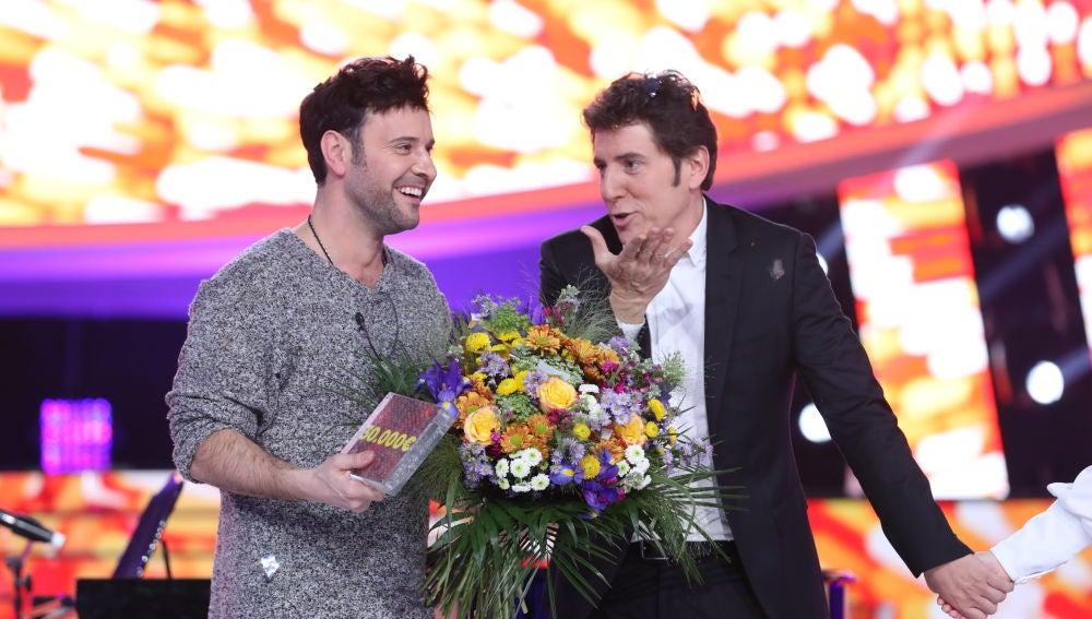 Miquel Fernández se proclama como ganador de la sexta edición de 'Tu cara me suena' con su gran imitación de Pablo López