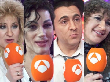 Lucía Gil, Fran Dieli, Raúl Pérez, La Terremoto de Alcorcón y Diana Navarro hacen balance de su experiencia en la sexta edición de 'Tu cara me suena'