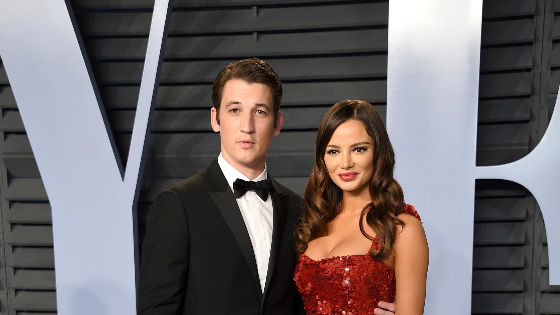 Miles Teller y Keleigh Sperry