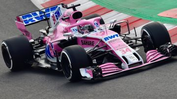 El Force India de 2018