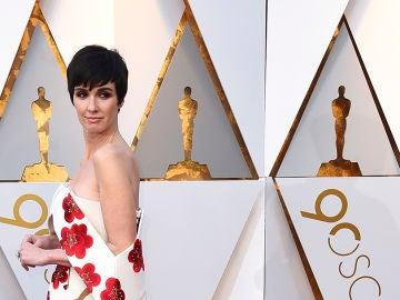 Paz Vega en la alfombra de los Oscar 2018