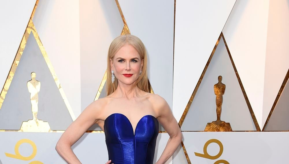 Nicole Kidman en la alfombra roja de los Oscar 2018