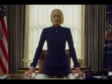 Claire Underwood toma el control de 'House of Cards'