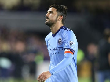 David Villa en el New York City