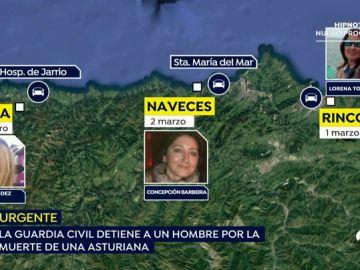 Detenido un hombre como presunto autor de la muerte de la mujer que apareció en el embalse en Asturias