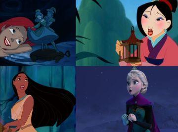 Las princesas Disney cantan las canciones de tu infancia